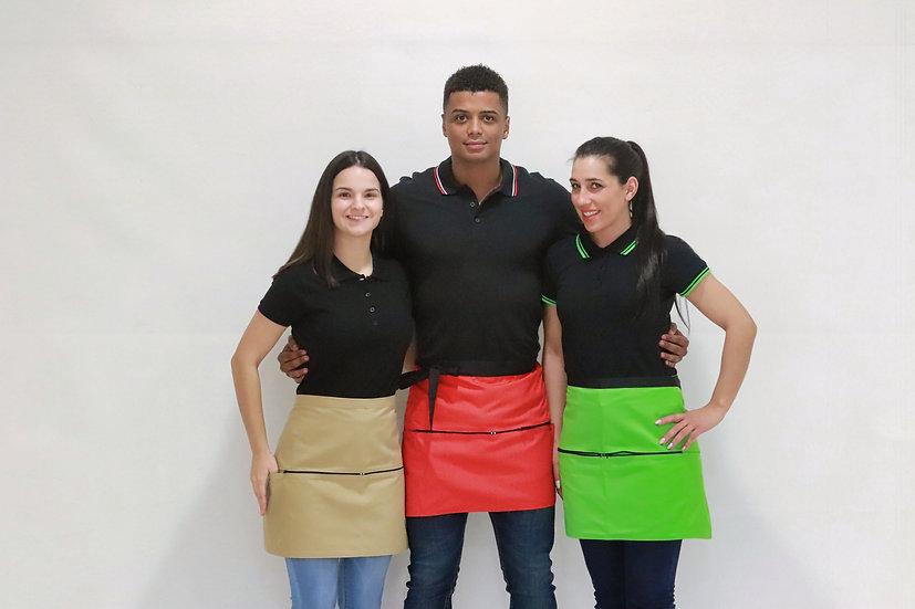 Avental De Cinta Colorido c/Fecho
