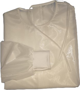 Bata Impermeável e Reutilizável C/Punhos