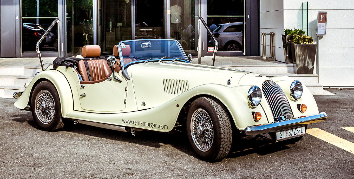 Morgan Car | Morgan on Tour