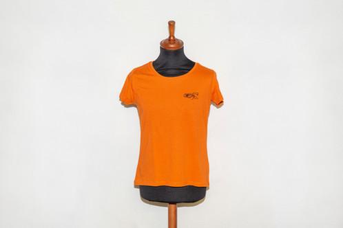 75f1b303b65857 T-Shirt Damen Rundhals