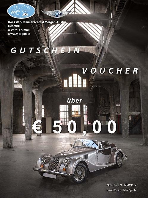 Gutschein im Wert von EUR 50