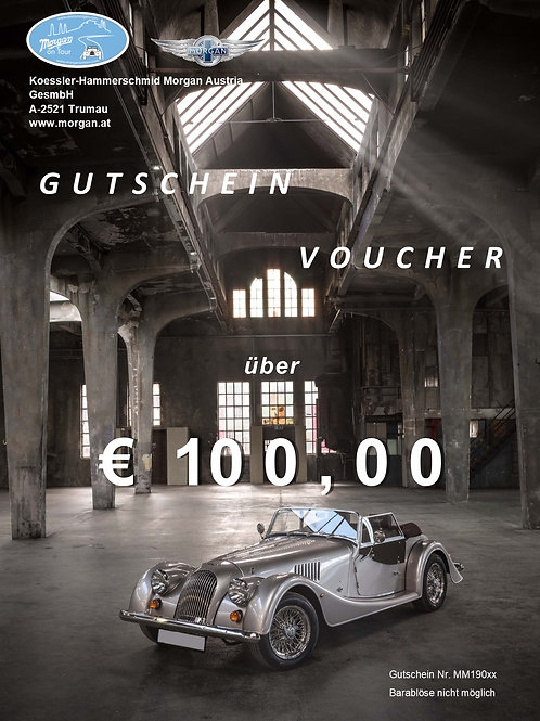 Gutschein im Wert von EUR 100