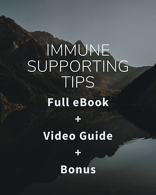 Top 5 Immune Supporting Tips FREE eBook
