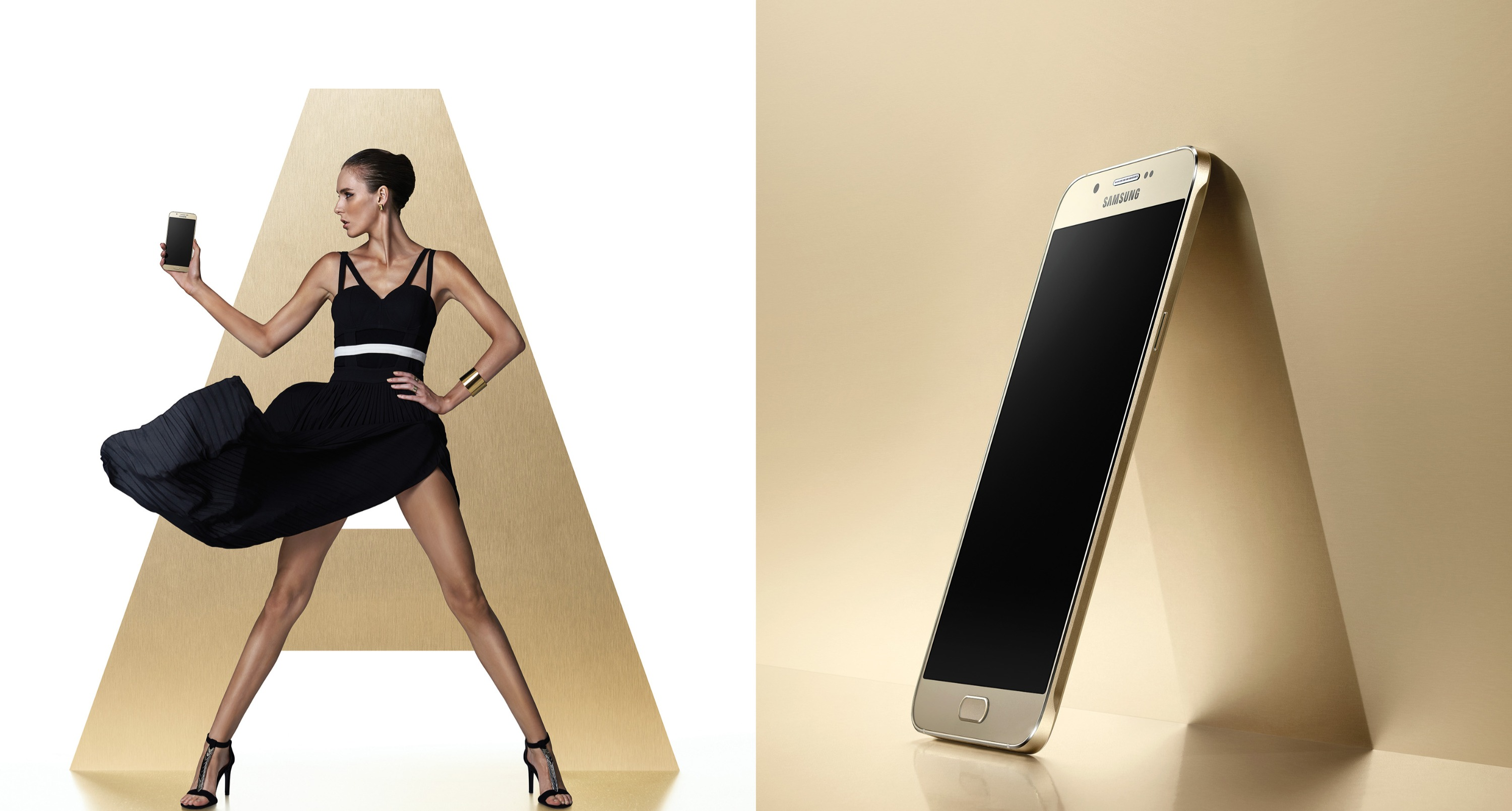 Galaxy A8 Lifestyle Model with Single_편집