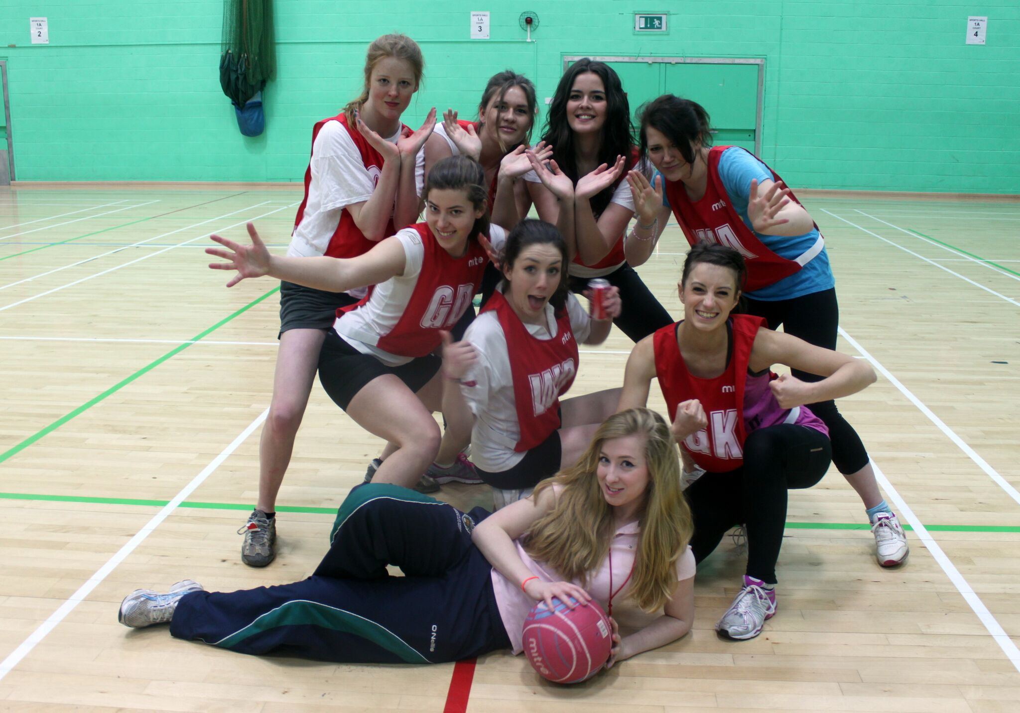 GIRLS NETBALL TEAM 2013