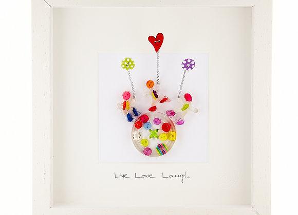 Live Love Laugh Medium