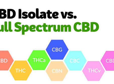 Full Spectrum CBD v. CBD Isolates