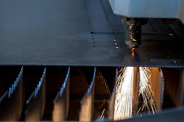 レーザー切断鋼