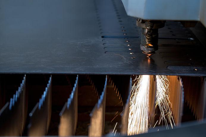 Laserschneiden Stahl