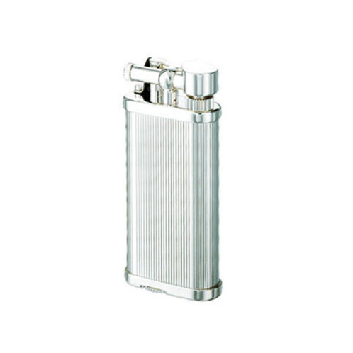 Dunhill Pipe Lighter Unique Silver Lines UL1302