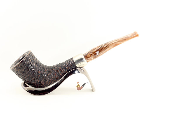 Peterson Derry Rustic Army Pipe B35 Fishtail