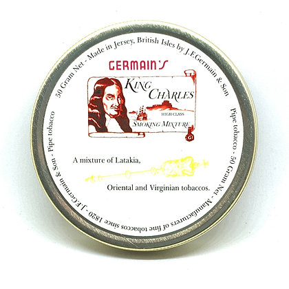 JF Germain King Charles Mixture Pipe Tobacco 50g Tin