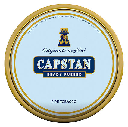 Mac Baren Capstan Blue Ready Rubbed 1.75oz Tin