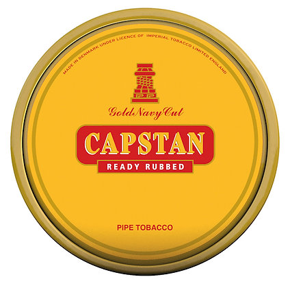 Mac Baren Capstan Gold Ready Rubbed 1.75oz Tin