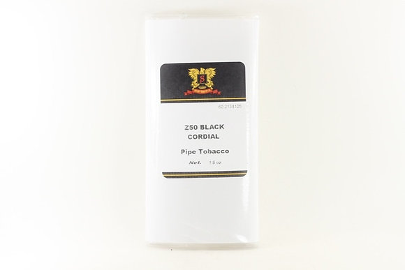 Sutliff Z50 Black Cordial Pipe Tobacco per oz