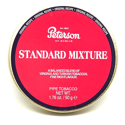 Peterson Dunhill Standard Mixture Pipe Tobacco 50g