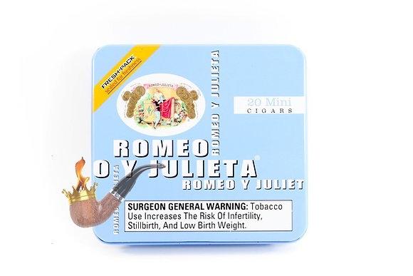 Romeo y Julieta Mini Blue 3x20 Cigar 20pk