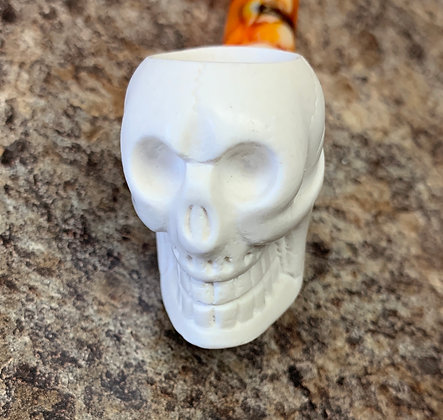 Royal Meerschaum Pipe Skull