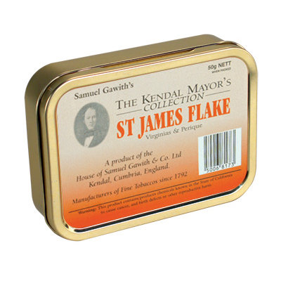 Samuel Gawith St James Flake Pipe Tobacco 50g
