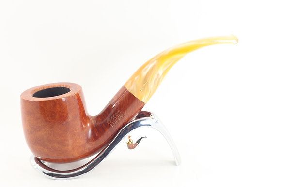 Savinelli Oscar Lucite Smooth Pipe 622 Bent Pot