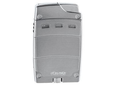 Xikar Ultra Mag Cigar Lighter Cutter Set Silver