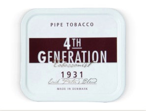 4th Generation Pipe Tobacco 1931 Blend 40g Tin