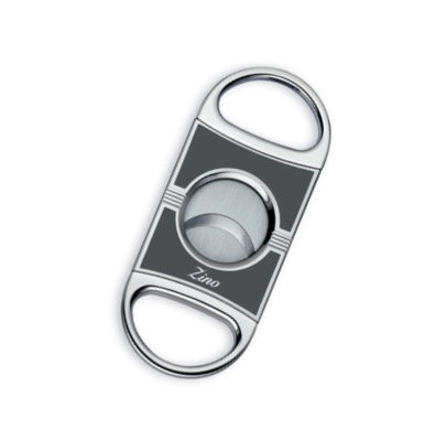 Zino Double Blade Cigar Cutter Light Gray