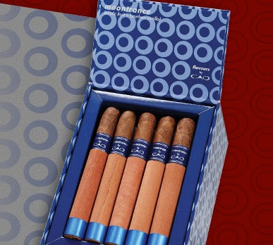 CAO Moontrance Tubo 4.7x30 Cigars 5pack