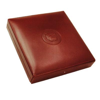 Dunhill Bulldog Travel Humidor Brown Leather