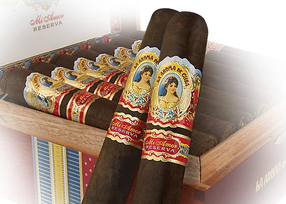 Aroma De Cuba Mi Amor Reserva Maximo 5.5x54 4pk