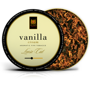 Mac Baren Vanilla Cream Pipe Tobacco 100g Tin