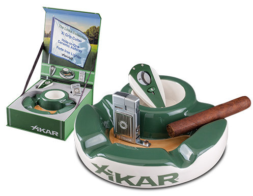 Xikar Links Cutter Lighter Ashtray Gift Set