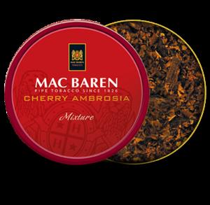 Mac Baren Cherry Ambrosia Pipe Tobacco 100g Tin