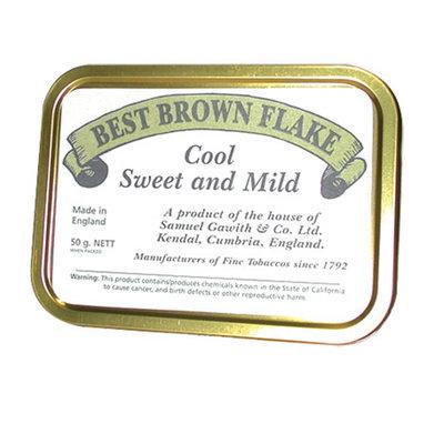 Samuel Gawith Best Brown Flake Pipe Tobacco 50g