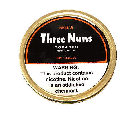 Mac Baren Three Nuns Pipe Tobacco Red Original 1.75oz Tin