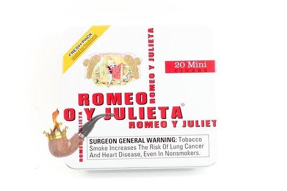 Romeo y Julieta Mini Original 3x20 Cigar 20pk