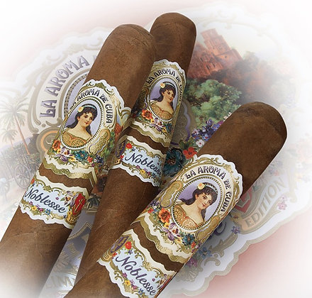La Aroma De Cuba Noblesse Regency Cigar 5.5x50 3pk