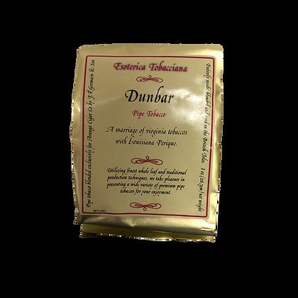 Esoterica Dunbar Pipe Tobacco 8 oz Foil Bag