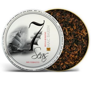 Mac Baren 7 Seas Regular Pipe Tobacco 3.5oz Tin