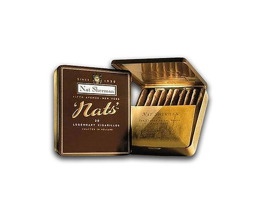 Nat Sherman Nat's Cigarillos Tin of 20