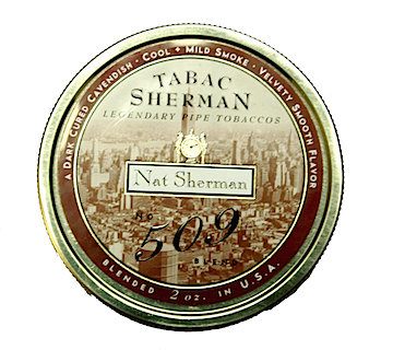 Nat Sherman 509 Pipe Tobacco Blend 2 oz. Tin