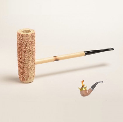 MacArthur Straight Corn Cob Pipe