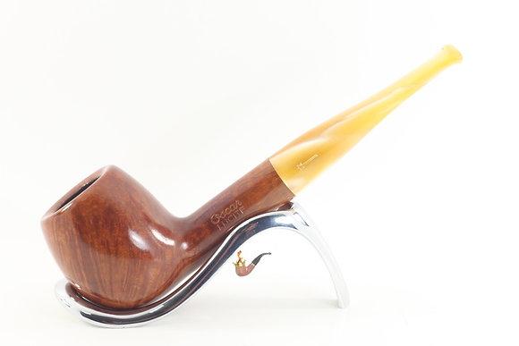 Savinelli Oscar Lucite Smooth Pipe 207 Apple