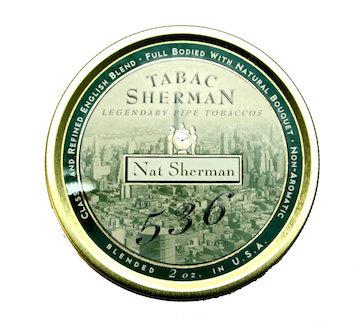 Nat Sherman 536 Pipe Tobacco Blend 2 oz. Tin