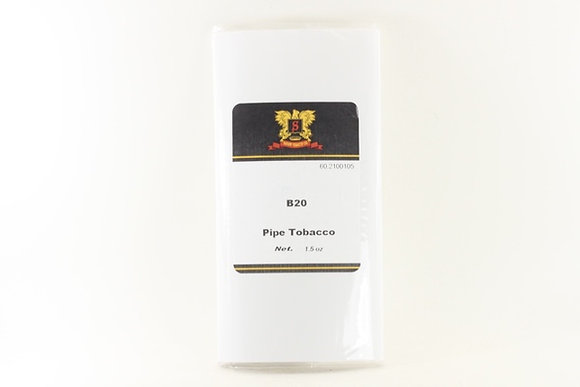 Sutliff B20 Black Cavendish Pipe Tobacco per oz