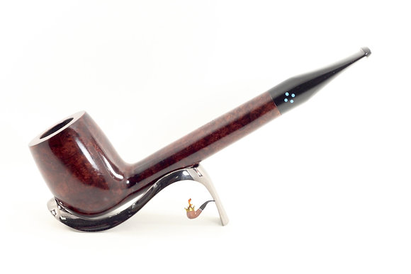 Sasieni 4 Dot Walnut Pipe 296XL Canadian
