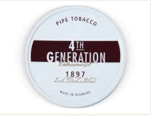 4th Generation Pipe Tobacco 1897 Blend 100g Tin