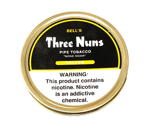 Mac Baren Three Nuns Pipe Tobacco Yellow 1.75oz Tin