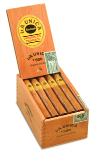 La Unica #400 Cigar Natural 4.5x50 4-pack
