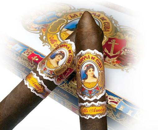 La Aroma De Cuba Mi Amor Robusto Cigar 5x50 4pk